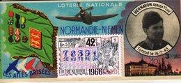 France - 243 - Normandie Niemen -  42 ème Tranche 1966 - Billetes De Lotería
