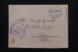 ITALIE / ALLEMAGNE - Carte Postale FM En Feldpost Pour Milano En 1944 - L 23359 - Marcofilía