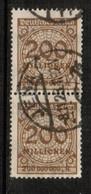 GERMANY  Scott # 291 VF USED PAIR (Stamp Scan # 454) - Germany