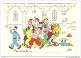 HUMOUR ILLUSTRATEUR DUBOUT EN VISITE A - Éd. DU MOULIN 1957 N° 8 A - NON CIRCULÉE - 2 Scans - - Dubout
