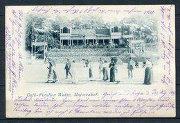 Majorenhof - Café-Pavillon Watze - S/w - Gel. 25.08.1899 - Lettland