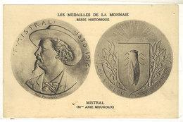 MISTRAL (MmeAnie Mouroux) Les Médailles De La Monnaie  ....  (111678) - Personnages