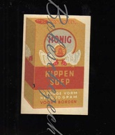 F33 CZECHOSLOVAKIA SOLO Match Works Export Vintage Export PERU - HONIG Kippen Soep Chicken Soup Made By Honig's Mills Ho - Boites D'allumettes - Etiquettes