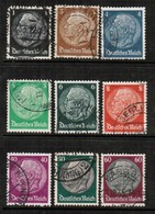 GERMANY  Scott # 415-31 VF USED (Stamp Scan # 454) - Used Stamps