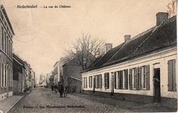 Nederbrakel - La Rue Du Château - Brakel