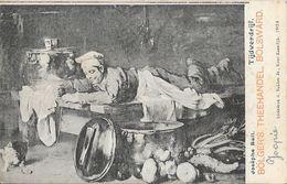 Publicité Bölger's Theehandel, Bolsward - Tableau De Josephe (Joseph) Bail: Tijdverdrijf (Passe-temps) - Publicité