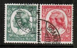 GERMANY  Scott # 446-7 VF USED (Stamp Scan # 454) - Germany