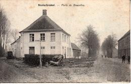 Nederbrakel - Porte De Bruxelles - Nels, Série 24 - 9 - 1901 - Brakel