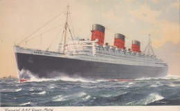 Paquebot De La Cunard  R.M.S. Queen Mary - Paquebots