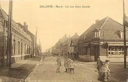 Dpts Div.-ref-AG49- Nord - Salomé - Rue Jean Jaurès - Enfants - Magasin A La Ménagère - Magasins - Carte Bon Etat - - Frankrijk