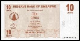 Zimbabwe 10 Cents 2006 P 35 UNC  ( Zimbabue  ) - Zimbabwe