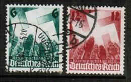 GERMANY  Scott # 442-3 VF USED (Stamp Scan # 454) - Germany