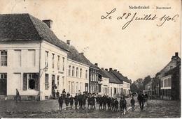 Nederbrakel - Neerstraat - Estaminet - 1906 - Brakel