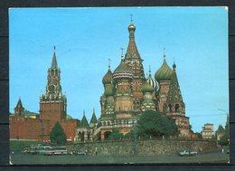 Moskau - Kreml Und Basilius-Kathedrale - Gel. 30.12.1986 - Russland