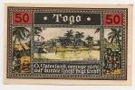 ALLEMAGNE / GERMANY - TOGO KOLONY - 50 PFENNIG 1922 / SERIE 1 - [12] Colonies & Banques étrangères