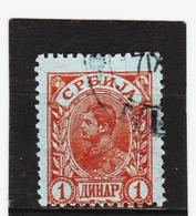 AUA1248 SERBIEN  1900 MICHL 50 Used / Gestempelt SIEHE ABBILDUNG - Serbien