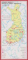 Ressources Minières Et Industries De Première Transformation En Finlande. Encyclopédie De 1970. - Vieux Papiers