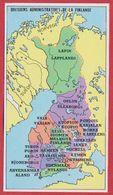 Divisions Administratives De La Finlande. Encyclopédie De 1970. - Vieux Papiers