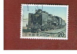 GIAPPONE  (JAPAN) - SG 1396  -   1975  SEAM LOCOMOTIVE: CLASS C51    - USED° - 1926-89 Imperatore Hirohito (Periodo Showa)