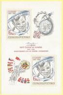 Tschechoslowakei1981: Block Nr. 43 Mit 2x Nr.2611** - 20 J. 1. Bemannter Weltraumflug #E25 - Blocs-feuillets
