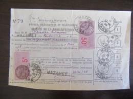 Postes, Télégraphes Et Téléphones - Carte D'auditeur - Reçu Pour Paiement De La Redevance - Timbres Fiscaux - 1938 - France