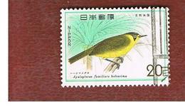 GIAPPONE  (JAPAN) - SG 1405  -   1975 BIRDS: APALOPTERON FAMILIARE    - USED° - 1926-89 Imperatore Hirohito (Periodo Showa)