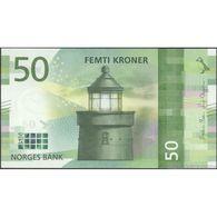 TWN - NORWAY NEW - 50 Kroner 2017 (2018) UNC - Norway