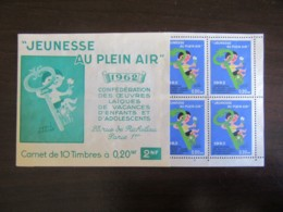 Erinnophilie - Carnet De 10 Timbres / Vignettes 0,20 NF 1962 - Complet - TBE - Commemorative Labels
