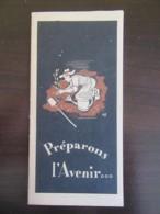 """Petit Carnet Publicitaire Post-guerre - """"Préparons L'Avenir"""" - Epargne - Par Havas - Non-daté - Documents Historiques"""