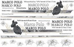 Autocollants Marco Polo Pour Vito Mercedes Westfalia De 1997 à 2004 - Transportation