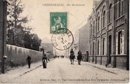 Nederbrakel - Rue Du Château - 1912 + Taks - Gendarmes Te Paard - Brakel