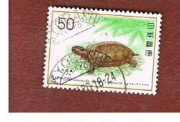 GIAPPONE  (JAPAN) - SG 1422 -   1976   ANIMALS: GEOMYDA SPENGLERI JAPONIC    - USED° - 1926-89 Imperatore Hirohito (Periodo Showa)