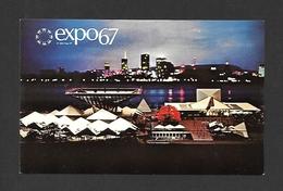 EXPOSITIONS - EXPO67 - EXPO 67 - MONTRÉAL - QUÉBEC - PAVILLON DU GOUVERNEMENT DU CANADA - Expositions