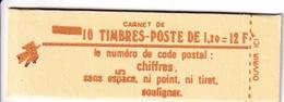 Carnet Sabine 10 TP à 1,20F - Usage Courant