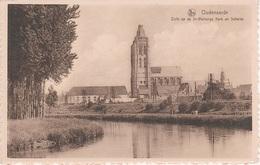CPA - AK Oudenaarde St Walburga Kerk En Schelde A Renaix Ronse Maarkedal Zingern Lede Korsele Horebeke Waregem Zottegem - Oudenaarde