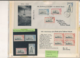 Falkland Islands Mi 145-148 (rare) Stamps And FDCs - Stamps