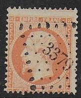 Napoléon N° 23 Oblitéré P.C. 3379  Toucy ( Yonne ) - 1862 Napoleon III