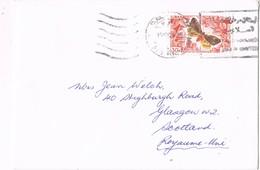 31926. Carta Aerea BEIRUT (Libano) 1961, Papillon, Mariposa - Líbano