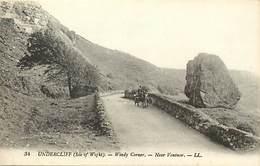 Pays Div- Ref R463- Royaume Uni -united Kingdom -uk - Undercliff -isle Of Wight - Windy Corner - Near Ventnor - - Angleterre