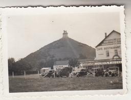 Waterloo - La Butte Et Environs - Café Restaurant - Oldtimers - Photo Format 6 X 8.5 Cm - Lieux