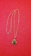 Chaine + Pendentif Dorée - 20cm - Necklaces/Chains