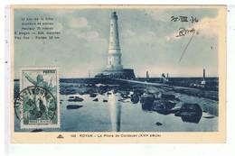 CPA-17-1936-ROYAN-LE PHARE DE CORDOUAN XVIII Siècle-TIMBRE ROUGET DE L'ISLE - Royan