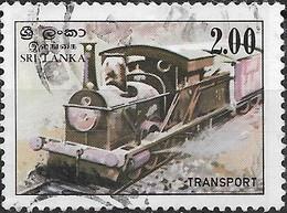 SRI LANKA 1983 Transport - 2r - Steam Train FU - Sri Lanka (Ceylon) (1948-...)