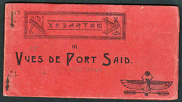 PORT SAID (Egypte) Carnet Complet Contenant 15 Belles Vues De Port Saïd (1890/1900) - Port Said
