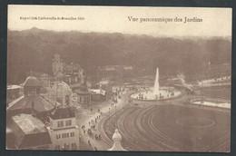 +++ CPA - Exposition Universelle De BRUXELLES - BRUSSEL - 1910 - Vue Panoramique Des Jardins  // - Wereldtentoonstellingen