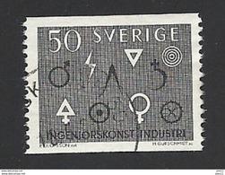 Schweden, 1963, Michel-Nr. 506, Gestempelt - Schweden