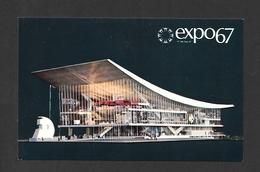 EXPOSITIONS - EXPO67 - EXPO 67 - MONTRÉAL - QUÉBEC - PAVILLON DE L'UNION SOVIETIQUE - Expositions