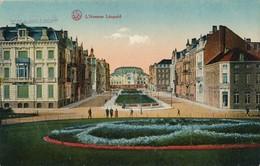 CPA - Belgique - Oostende - Ostende - L'avenue Léopold - Oostende