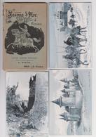 Jeanne D'Arc à Rouen, Série De 12 Cartes, Illustrateur A.Robida - Rouen