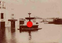AUXERRE Crue De 1910 Grande Photographie 160 X 110 - Lieux